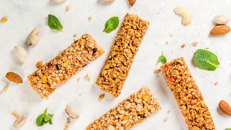 Cherry Bakewell Seeded Bars