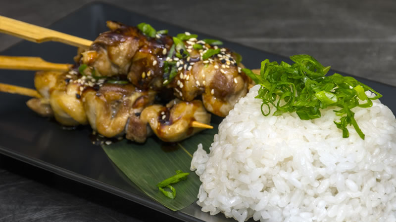 Nutty Chicken Satay