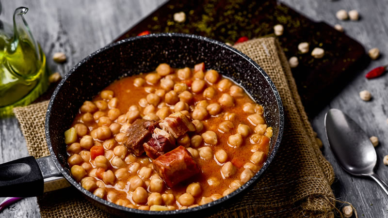 Pork Chorizo and Chickpea Onepot