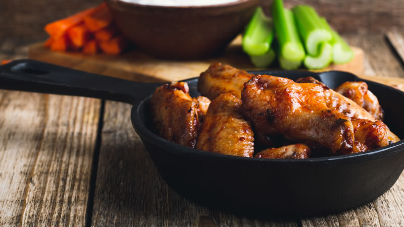 Very Sticky Chicken Wings